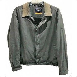 Dockers Stain Resistant Charcoal Gray Jacket XL
